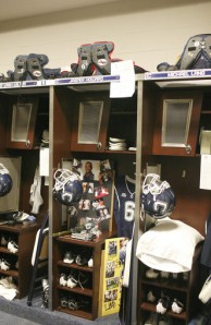 Jasper Howard's Locker... Photo Courtesy of Hartford Courant